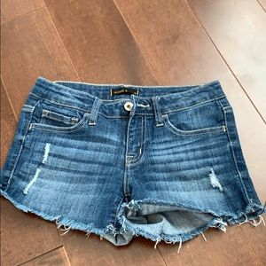 Klique B Jean Shorts